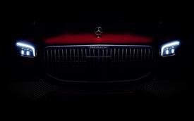 """SUV siêu sang Mercedes Maybach GLS nhá hàng lần cuối trước """"giờ G"""""""