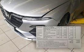 Thực hư bảng báo giá sửa chữa được cho là của VinFast Lux A2.0 với chi phí hơn nửa tỷ đồng