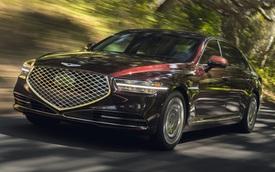 Ra mắt Genesis G90 mới: Tản nhiệt to kém gì BMW, tham vọng đối đầu Mercedes-Benz S-Class