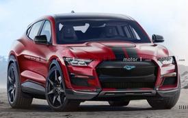 Ford Mustang chuẩn bị có thêm SUV phiên bản 4 cửa