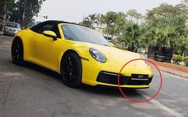Porsche 911 Carrera S Cabriolet 2020 giá hơn 8,5 tỷ đầu tiên Việt Nam lăn bánh ra phố, biển số đặt ra dấu hỏi lớn