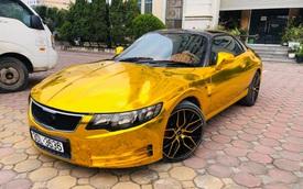 Dân chơi độ xe thể thao Mitsubishi FTO lai Kia Cerato độc nhất Việt Nam theo phong cách 'dát vàng' Dubai