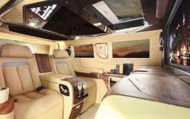 Thợ Việt lột xác nội thất Ford Tourneo với hơn 800 triệu đồng, lấy cảm hứng từ Rolls-Royce Cullinan