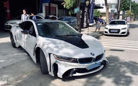 BMW i8 đầu tiên Việt Nam độ bodykit siêu dị, chi phí lên tới cả trăm triệu đồng
