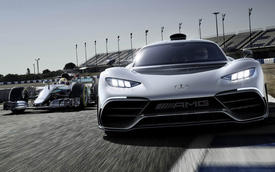 Siêu xe Mercedes-AMG One cần thêm 2 năm để tới tay đại gia mê tốc độ