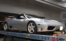 Ferrari 360 Spider siêu hiếm của đại gia bất động sản bất ngờ xuất hiện tại showroom chính hãng
