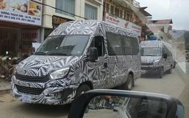Lộ xe mới do THACO phân phối chạy thử xuyên Việt - Đối trọng mới của Ford Transit