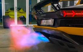 Lamborghini Aventador S 45 tỷ của đại gia thẩm mỹ độ pô hàng trăm triệu đồng, chỉ có 18 bộ trên toàn thế giới