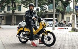 Honda Cross Cub giá trăm triệu của dân chơi Hà thành: Xe như Wave, giá hơn SH