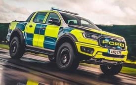 Không chọn siêu xe, cảnh sát Anh đưa Ford Ranger Raptor vào đội hình