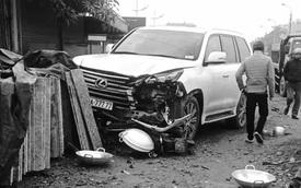 Hà Nội: Xe Lexus biển ngũ quý gây tai nạn khiến 1 người phụ nữ tử vong tại chỗ