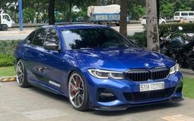Chủ BMW 330i M Sport chịu chơi nhất Việt Nam: Chi hàng trăm triệu đồng nâng cấp đồ hiệu, giá xe bằng cả 530i mới