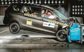 Suzuki Ertiga chỉ nhận được 3 sao an toàn NCAP thua Toyota Vios và đây là lý do