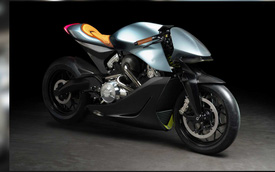 Mô tô Aston Martin đặc biệt thử sức với BMW Motorrad là đây