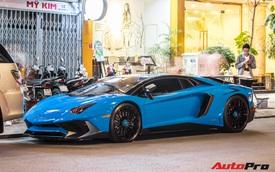 Bộ 3 siêu xe Lamborghini hàng độc tại Việt Nam khuấy động đường phố Sài Gòn cuối tuần