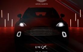 Aston Martin sắp cho ra mắt siêu SUV với giá bán bỏ xa Bentley Bentayga