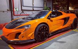 Đại gia Việt chơi trội với chiếc McLaren 650S Spider độ Liberty Walk cùng một chi tiết gây chú ý