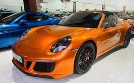Chán màu gốc giá ngàn USD, đại gia Việt thay áo cho Porsche 911 Targa 4 GTS độc nhất Việt Nam