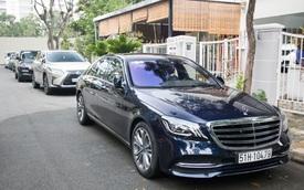 Dàn xe sang bạc tỷ tề tựu đám cưới Ông Cao Thắng, Đông Nhi trước giờ G, chiếc xe hoa đặc biệt gây chú ý