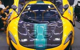 Mới độ Liberty Walk, McLaren 650S Spider của đại gia Sài Gòn đã kịp 'biến hình' theo phong cách xe đua F1 GTR