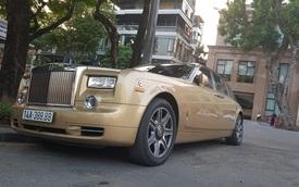 Rolls-Royce Phantom màu độc, biển tứ quý 8 của đại gia Quảng Ninh bất ngờ xuất hiện tại Hà Nội
