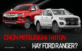 So sánh Mitsubishi Triton Premium và Ford Ranger Wildtrak - bán tải Nhật 'full option' đấu 'vua công nghệ' Mỹ
