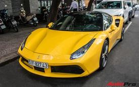 Ferrari 488 GTB của em trai Phan Thành bất ngờ xuất hiện trên phố Sài Gòn cuối tuần