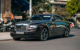 Bắt gặp Rolls-Royce Wraith độ độc đáo của dân chơi đồng hồ khét tiếng Hà Nội