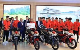 Sau VinFast, tới lượt Honda tặng xe cho các cầu thủ Việt Nam sau khi vô địch SEA Games 30