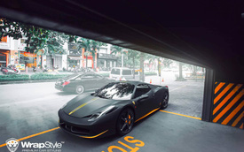 Ferrari 458 Spider có tiểu sử đặc biệt bất ngờ tái xuất với diện mạo khác lạ