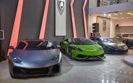Hé lộ showroom nhiều siêu xe nhất tại Việt Nam: Một số có lai lịch đặc biệt