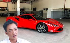 Doanh nhân Nguyễn Quốc Cường 'tậu' siêu xe Ferrari F8 Tributo?