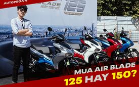 Chênh 14 triệu đồng, Honda Air Blade 150 có gì hút khách hơn so với phiên bản 125?