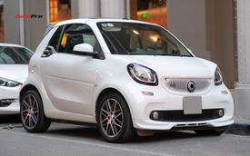Chiếc Smart ForTwo độ Brabus này nhỏ hơn Kia Morning nhưng có giá cả tỷ đồng tại Việt Nam