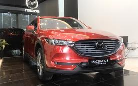 Mazda CX-8 giảm giá kỷ lục 100 triệu đồng, phiên bản 'giá rẻ' lên lịch bán ra, gần ngang CX-5