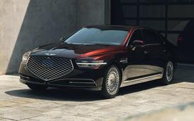Genesis G90 mới lộ nội thất giàu công nghệ sang xịn đấu Mercedes S-Class