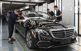 Các hãng xe Trung Quốc nhăm nhe nuốt phần lớn cổ phần của hãng mẹ Mercedes-Benz