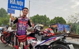 Thanh niên 25 tuổi cầm lái Exciter phượt xuyên Việt hơn 1.600 km trong 20 tiếng phá 'kỷ lục' thời gian gây tranh cãi
