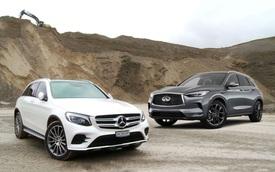So găng Infiniti QX50 và Mercedes-Benz GLC tại Việt Nam - SUV Nhật đòi đấu 'vua doanh số' từ Đức