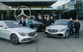 Mercedes-Benz đã sản xuất được 500.000 chiếc S-Class đời mới nhất, một phần ba số đó chỉ để phục vụ thị trường này