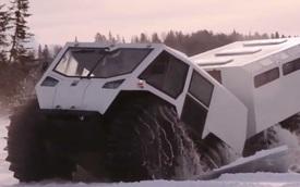 Sherp 'The Ark' - Xe siêu địa hình 10 bánh, vỏn vẹn 74 mã lực nhưng thách thức mọi giới hạn