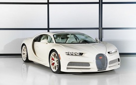 Siêu phẩm Bugatti Chiron độc nhất vô nhị trao tay đại gia bất động sản sau 3 năm hoàn thiện
