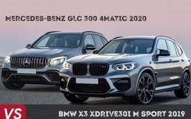 Rẻ hơn tới 300 triệu, chọn Mercedes-Benz GLC mới hay BMW X3 khi cùng nhập khẩu?