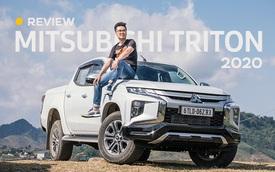 Đánh giá Mitsubishi Triton 2020: Nhì phân khúc trong tầm tay