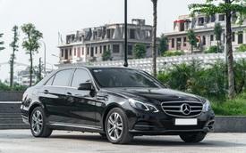 Chỉ sau 5 năm, Mercedes-Benz E-Class nay còn rẻ hơn Toyota Camry cả chục triệu đồng