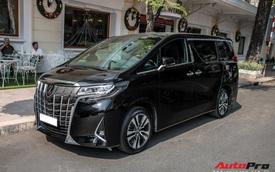 Doanh nhân Nguyễn Quốc Cường 'tậu' Toyota Alphard giá hơn 4 tỷ đồng