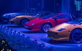 """Lamborghini tổ chức tiệc tối cho khách VIP với """"thực đơn"""" siêu dị"""