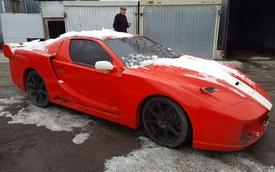 Nissan 300ZX độ fake siêu xe Ferrari bị chủ bỏ rơi, bán lại với giá hơn 100 triệu đồng