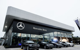 Mercedes-Benz ngày càng bỏ xa BMW về số lượng đại lý tại Việt Nam