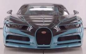 Bugatti khoe Chiron ngựa vằn độc nhất vô nhị đang chế tạo cho khách VIP: Một đường chỉ thôi cũng mất vài tuần để khâu